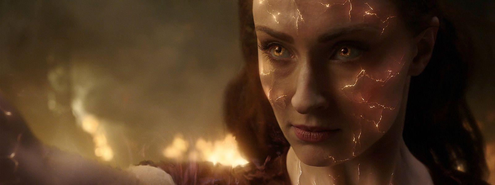 Durch den Kontakt mit kosmischer Materie wird Jane Grey (Sophie Turner) zur Supermutantin.