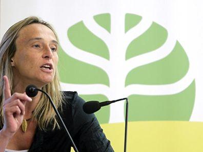 Méco-Präsidentin Blanche Weber lobt und tadelt die Regierung.