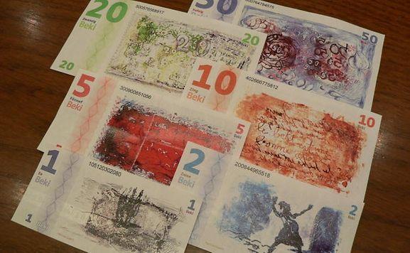 """Auch in Sachen Design steht der """"Beki"""" dem Euro in nichts nach..."""
