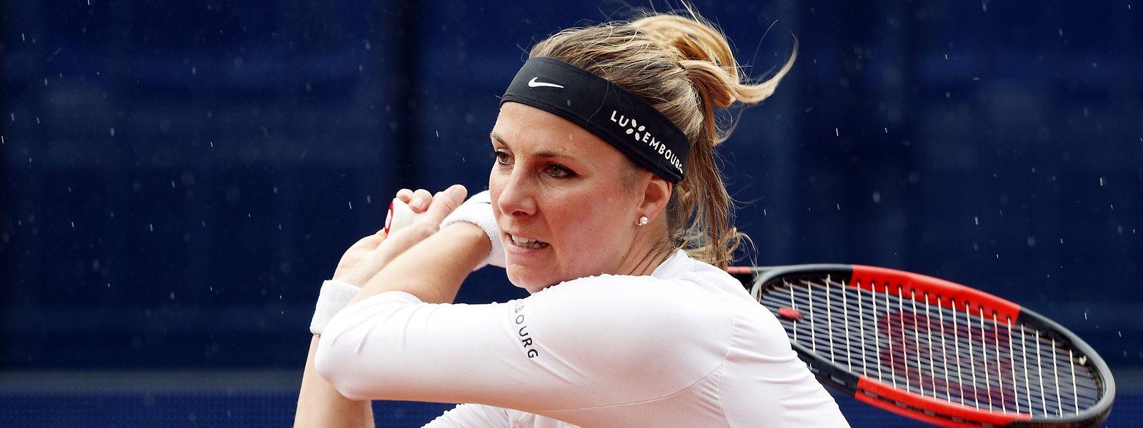 Mandy Minella spielt nun von Sonntag an in Roland Garros.