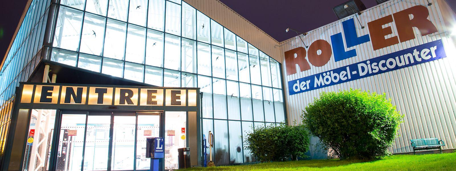 Die Möbelkette Roller ist in Luxemburg mit drei Filialen vertreten.