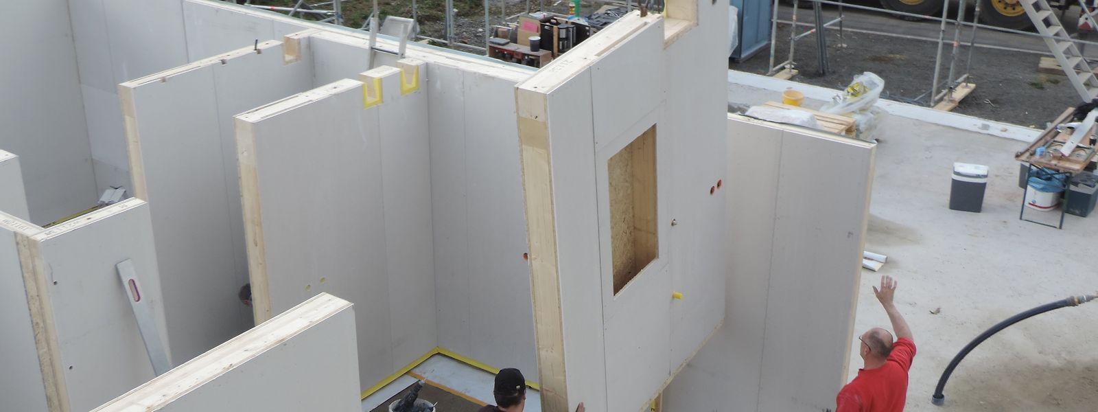 Das erste Projekt von Heliosmart in Wiltz wurde in weniger als sechs Monaten fertig gebaut.