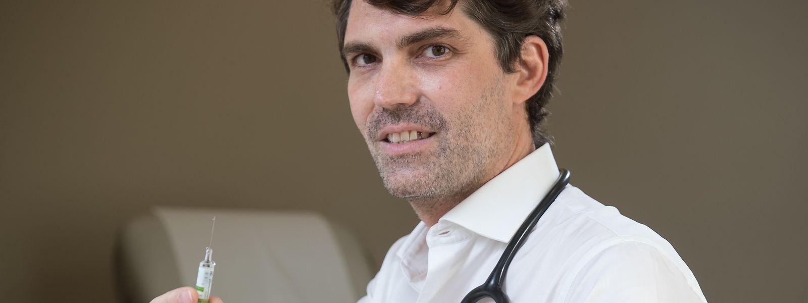 Pour le Dr Steichen, «proposer un environnement connu du patient lèvera certaines réticences à la vaccination telle que proposée dans les grands centres».