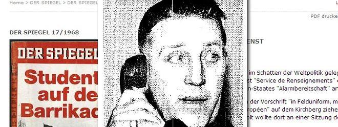 """Der """"Spiegel""""-Artikel von 1968 warf ein kritisches Licht auf die Arbeit des damaligen """"Service de Renseignement""""."""