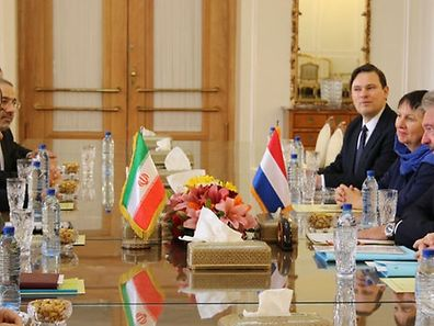 Luxembourg's Foreign Affairs Minister Asselborn met with his Iranian counterpart Zarif.