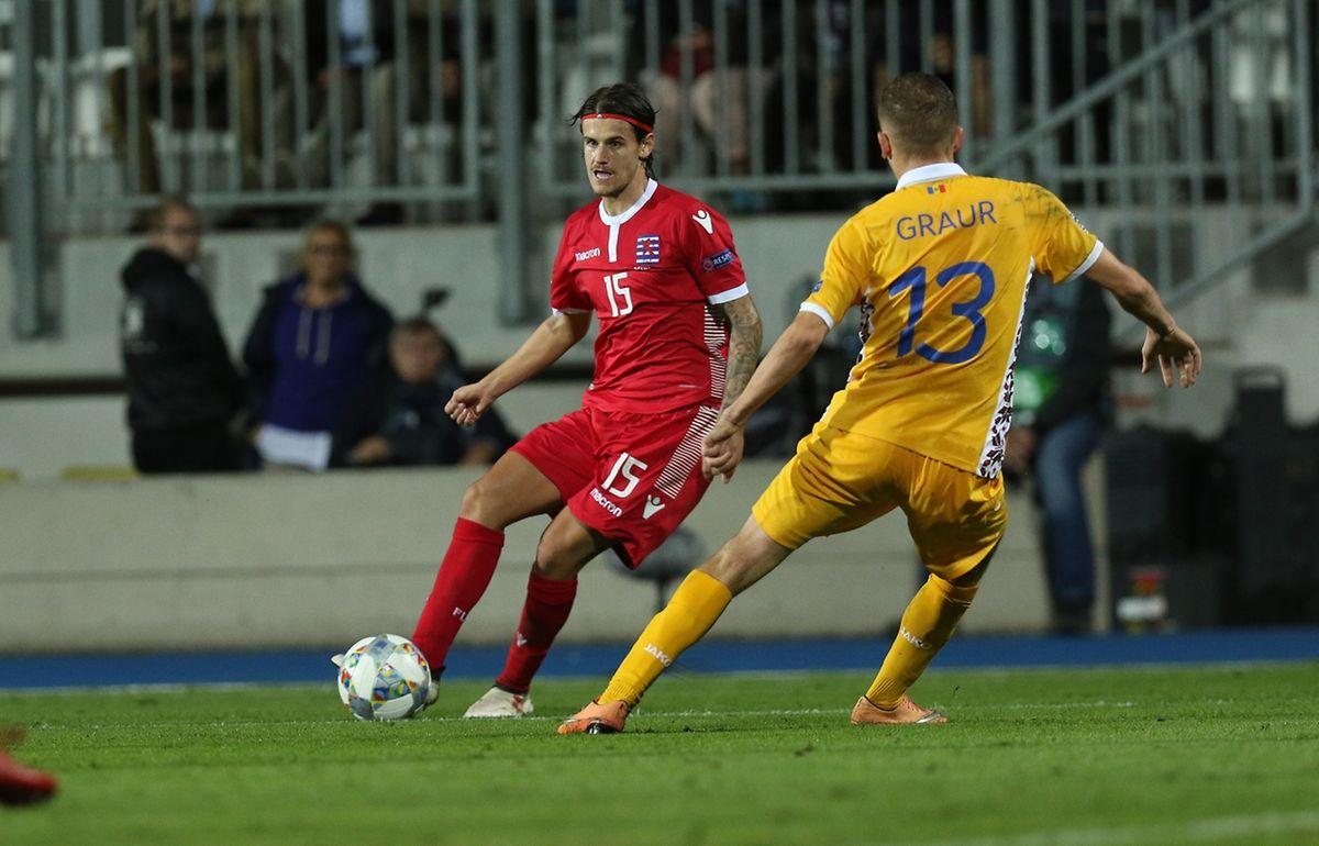 Olivier Thill a déjà inscrit son septième but après sa septième sélection. Il a aussi été passeur décisif pour Danel Sinani.