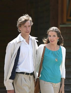 Prince Louis with his wife, Princess Tessy