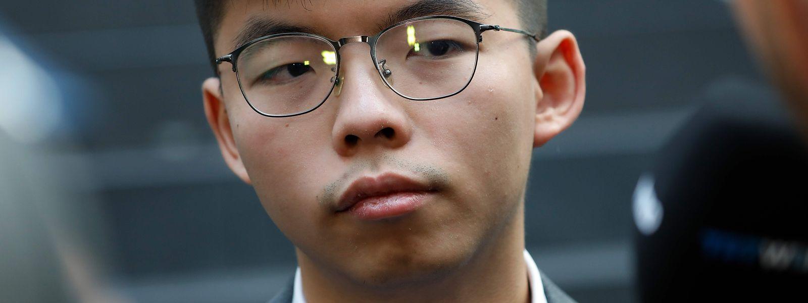 Joshua Wong wirbt derzeit in Berlin um internationale Ünterstützung für die Anliegen der Hongkonger Demokratiebewegung.