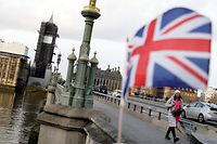 Britain's Houses of Parliament (L), incorporating the House of Lords and the House of Commons, is pictured in central London on December 16, 2019. - Prime Minister Boris Johnson vowed Saturday to repay the trust of former opposition voters who gave his Conservatives a mandate to take Britain out of the European Union next month. Johnson toured a leftist bastion once represented by former Labour leader Tony Blair in a bid to show his intent to unite the country after years of divisions over Brexit. (Photo by Tolga AKMEN / AFP)