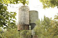 In die Fassade vom 50 Meter hohen Turm werden unter anderem Vogelnester und Nistplätze für Fledermäuse integriert.