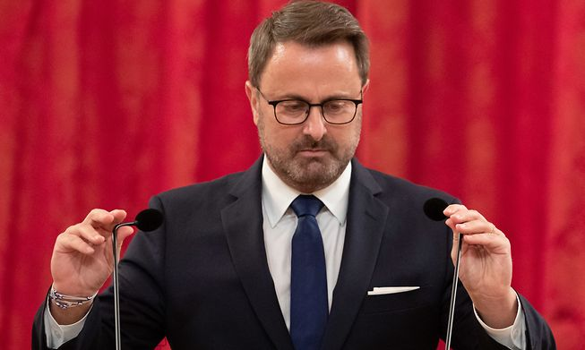 Xavier Bettel said he has received death threats as a result of the latest plans to extend the CovidCheck system to the workplace