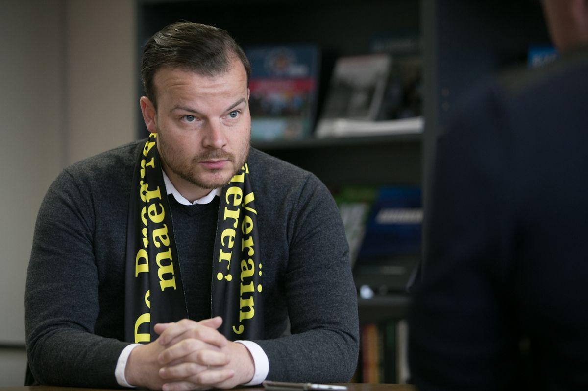 Thomas Gilgemann: «Il y a de fortes chances que Tim Hall reste au club.»