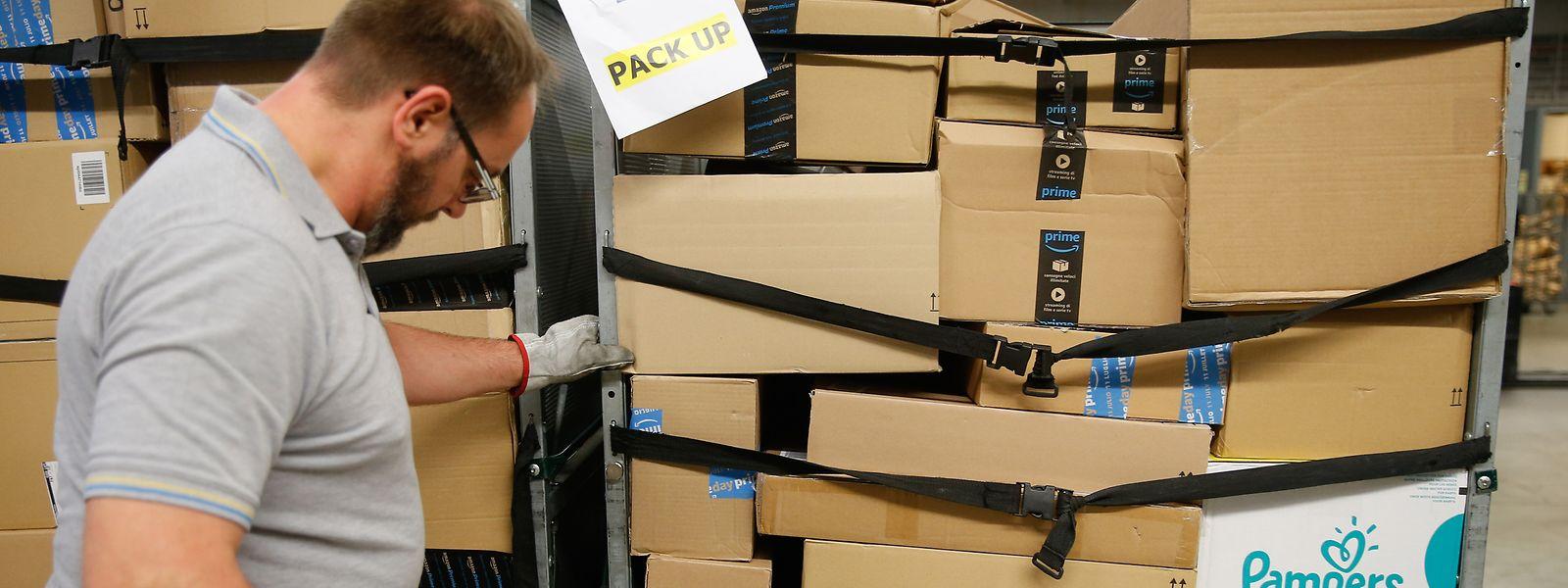 Das Paketgeschäft läuft derzeit auf Hochtouren.