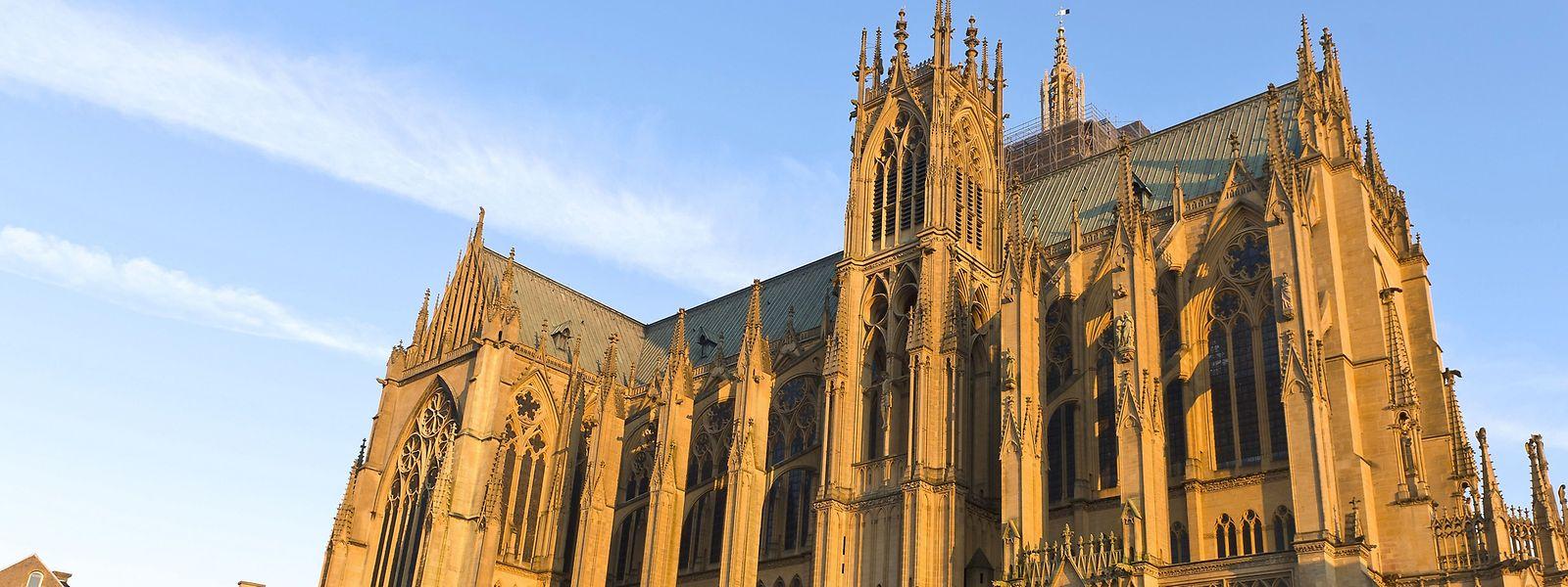 """Nach dem Brand wurde die Kathedrale zum """"genuin gotischen Bauwerk"""" umgestaltet."""