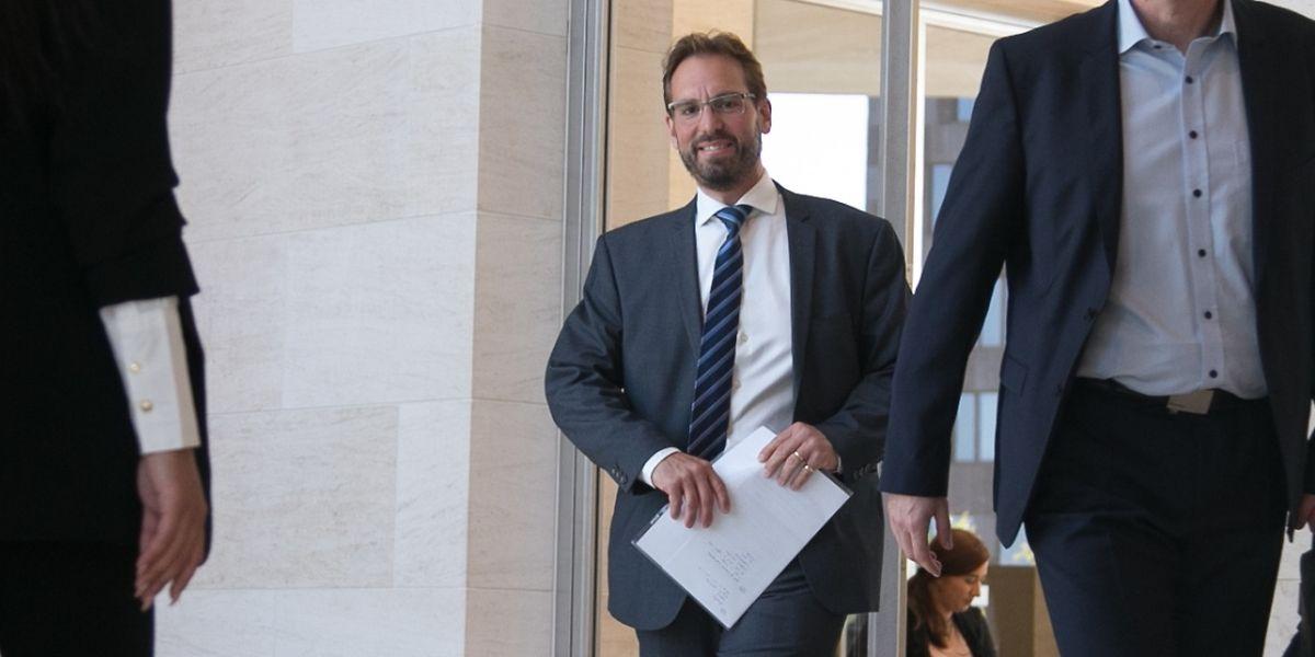 Le directeur de l'Agence spatiale du Luxembourg, Marc Serres