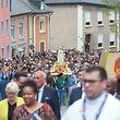 10.5.2018 Luxembourg, Wiltz, Fatima, église de Niederwiltz, procession et messe Sanctuaire N.D. de Fatima, op Baessent photo Anouk Antony