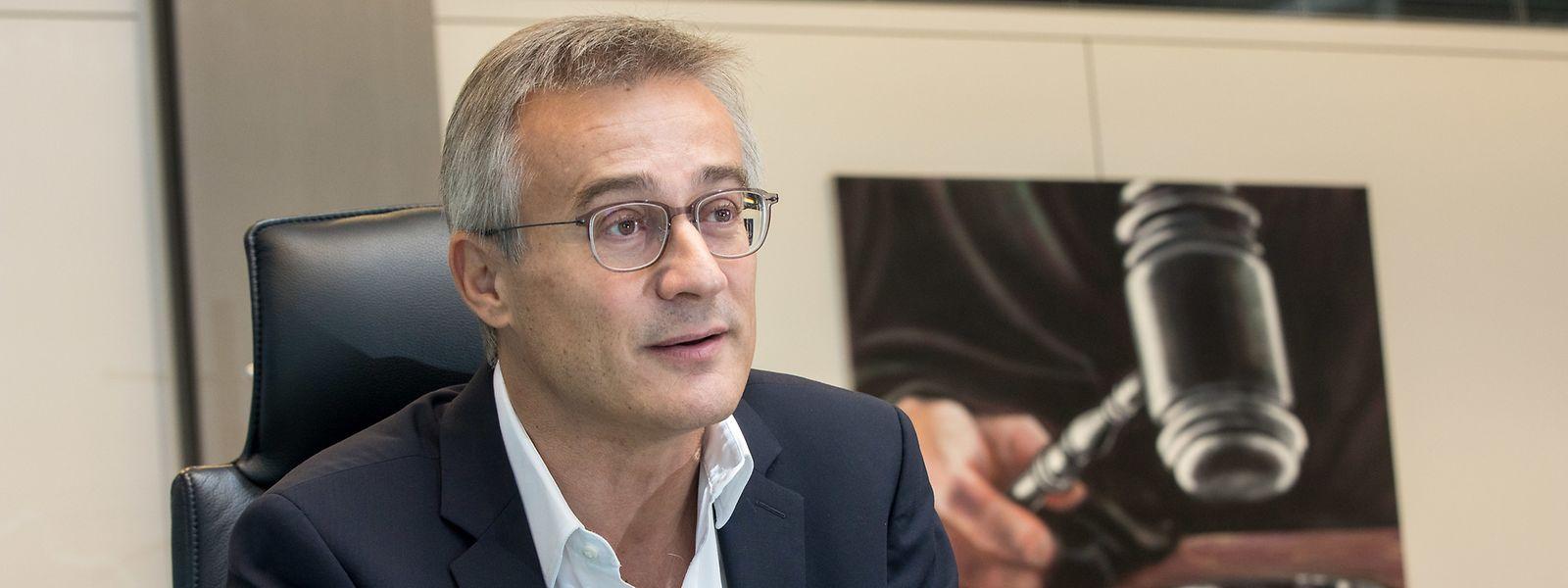 Felix Braz, ministre de la Justice sortant et candidat des Verts dans le Sud: «Nous n'avons encore jamais exclu une coalition entre le CSV et Les Verts».