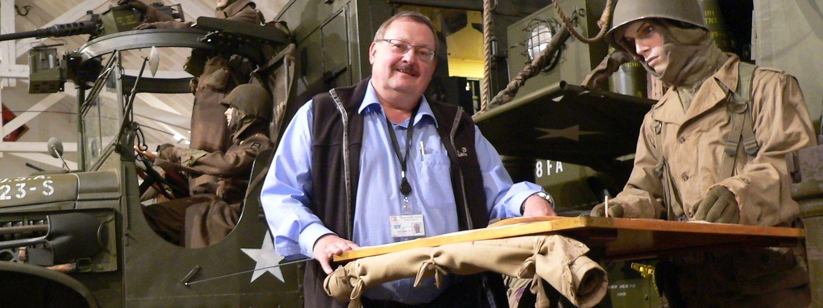 Roland Gaul war während gut 30 Jahren das Gesicht des Militärmuseums in Diekirch.