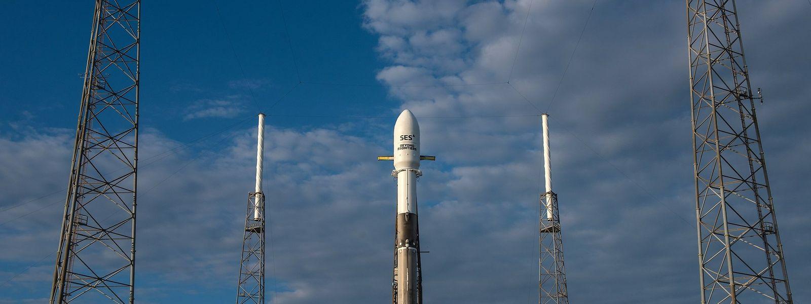 Space X a lancé avec succès SES12, qui va rejoindre SES8 pour l'Asie-Pacifique et le Moyen-Orient
