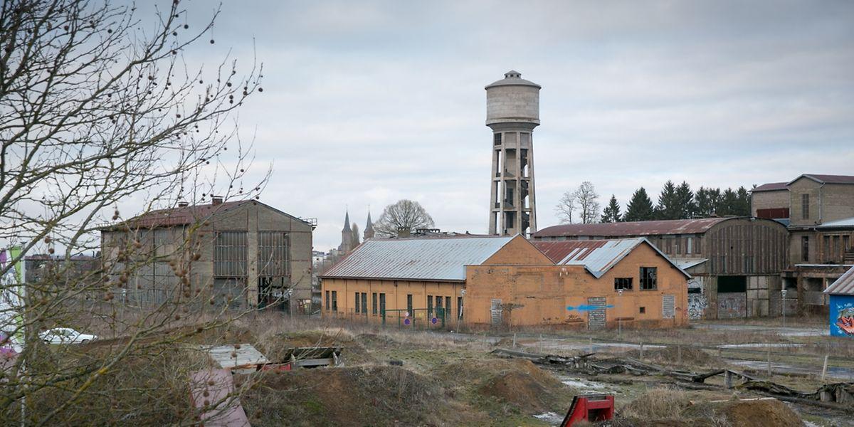 Auf der Industriebrache in Düdelingen sollen neben rund 1000 geplanten Wohnungen auch Start-ups und Firmen aus der Filmbranche Platz finden.
