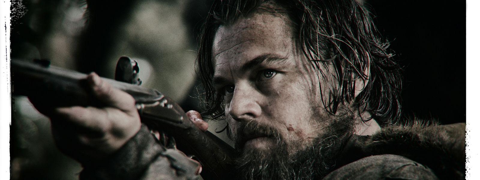 Leonardo di Caprio gibt den starken Mann - und kämpfte sich damit zu einer Oscarnominierung vor.