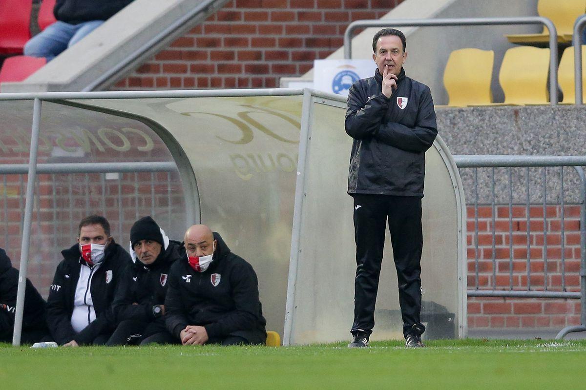 Pascal Carzaniga stand nach seinem Rücktritt am Donnerstag dennoch als Swift-Trainer an der Seitenlinie.