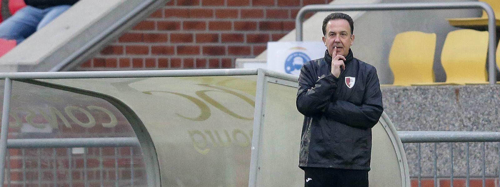 Rücktritt vom Rücktritt: Pascal Carzaniga bleibt Trainer bei Hesperingen.