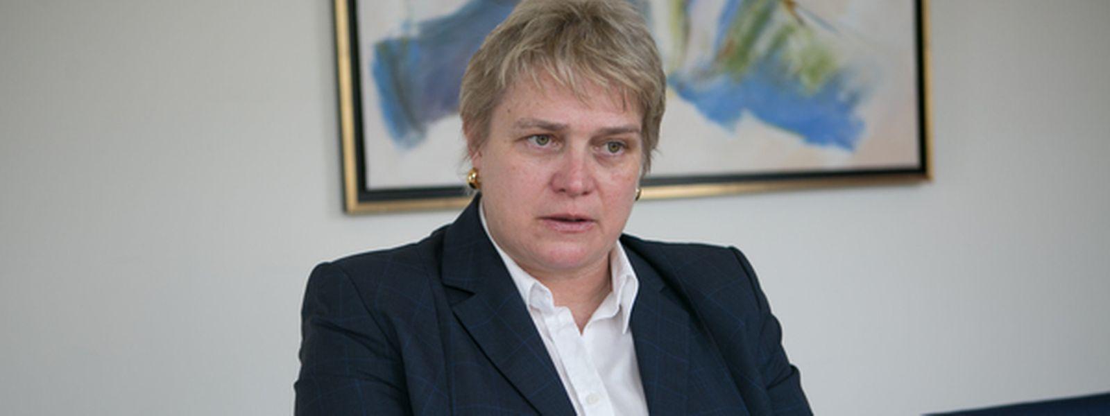Postdirektorin Hjoerdis Stahl möchte in diesem Jahr das logistische Netz für den Paketversand optimieren.
