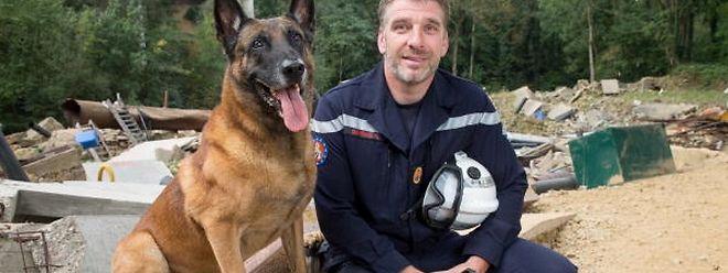Rettungshunde kommen u.a. beim Zivilschutz zum Einsatz.