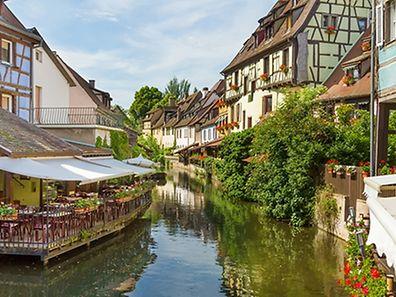 """La belle ville de Colmar, dont s'est inspiré le film de la """"Belle et la Bête""""."""
