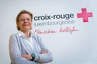 Rita Krombach, Vizepräsidentin des Luxemburger Roten Kreuzes, sammelt selbst seit 35 Jahren Spenden.