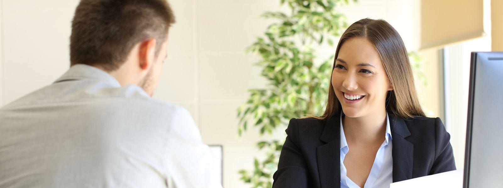 Avec le déconfinement progressif, les entretiens d'embauche ont pu reprendre dans les entreprises