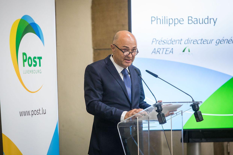 Philippe Baudry, Chef des Unternehmens Artea,  hat insbesondere die Entwicklung von Kirchberg in den letzten zehn Jahren verfolgt.