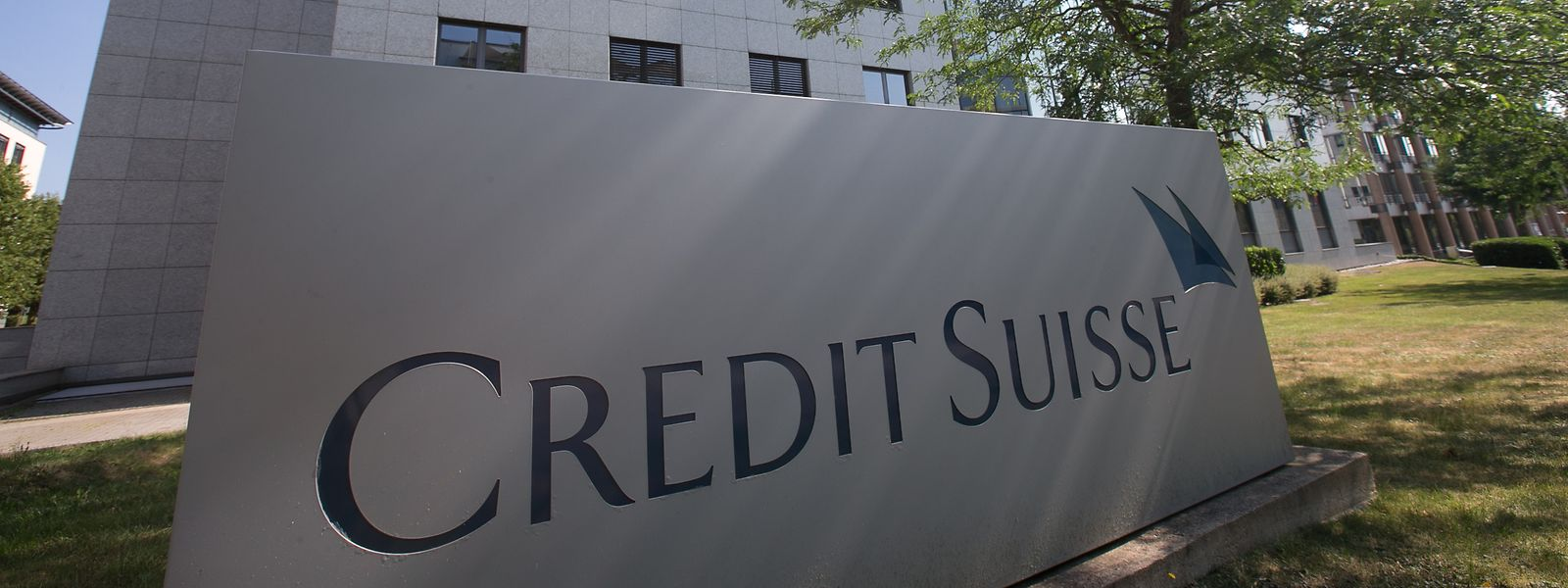 Filial do Credit Suisse, em Kirchberg, na capital luxemburguesa.