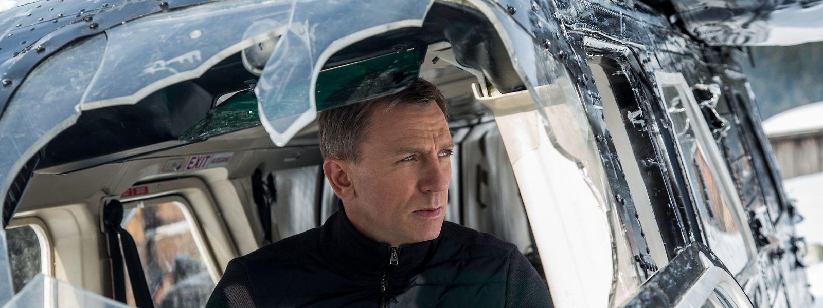 """Am Ende von """"Spectre"""", dem letzten James-Bond-Film, hatte 007, gespielt von Daniel Craig, den Dienst quittiert, kehrt im neuen Film allerdings wieder aus seinem Ruhestand zurück."""