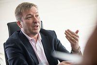 IPO,Interviewserie Blau-Rot-Grün. Marc Hansen. Foto: Gerry Huberty/Luxemburger Wort.