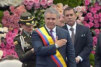 Offiziell vereidigt ist der neue kolumbianische Präsident Ivan Duque.