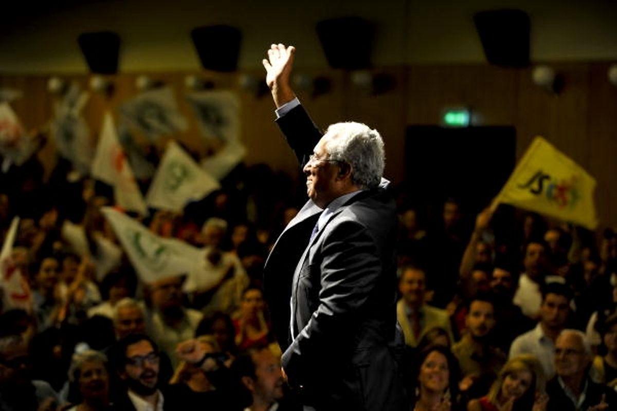 A tradição diz que se Costa ganhar em Braga, ganha as eleições Fotos: Lusa