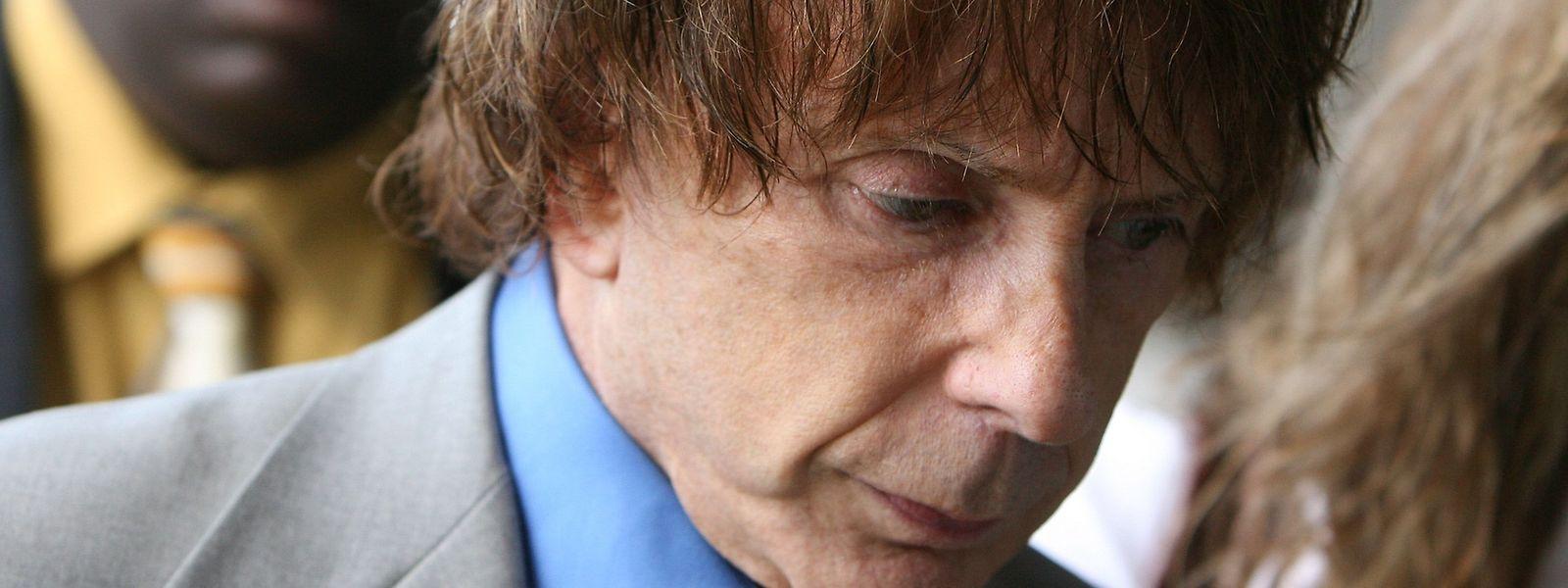 Der Musikproduzent Phil Spector 2007 bei seinem Mordprozess.