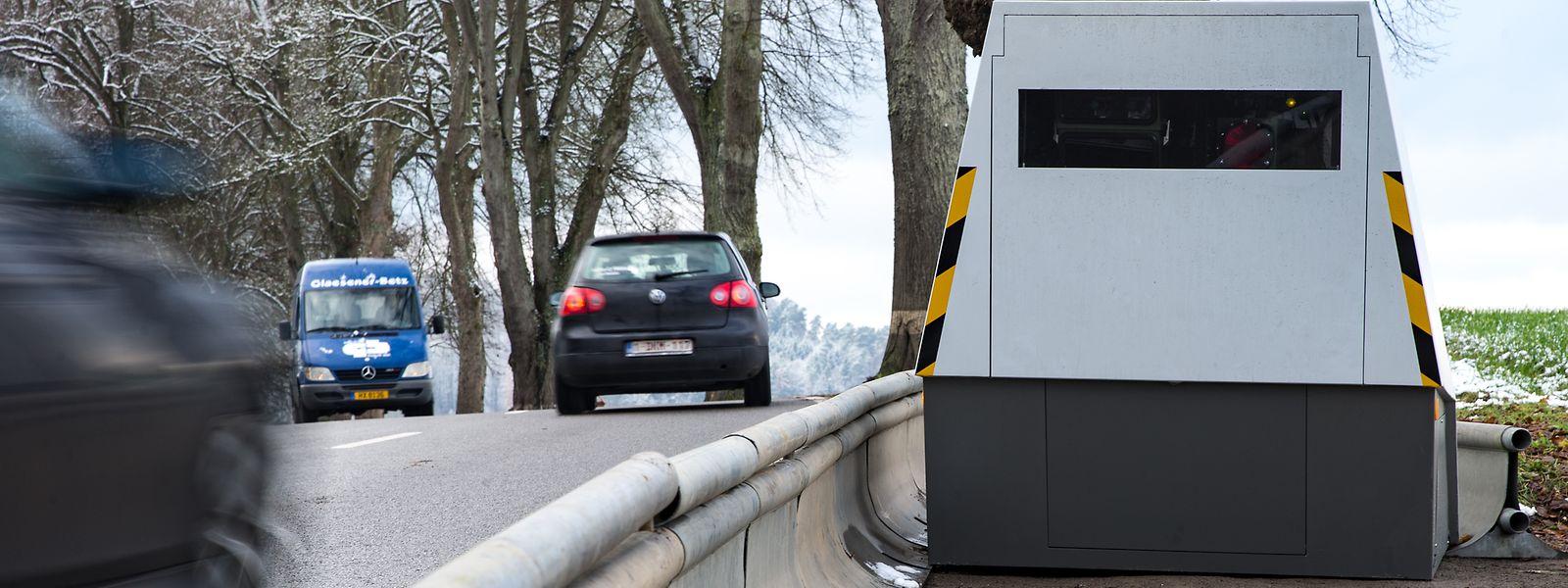 En 2019, les deux radars de chantier ont été à l'origine d'un quart des flashages de conducteurs trop pressés.