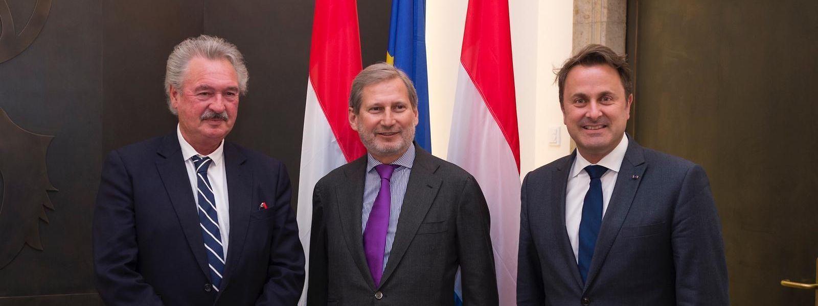 Johannes Hahn a entendu la position luxembourgeoise sur sa contribution au budget de l'UE.