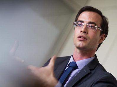 """Laurent Heisten, spokesman for """"Déi Liberal"""""""
