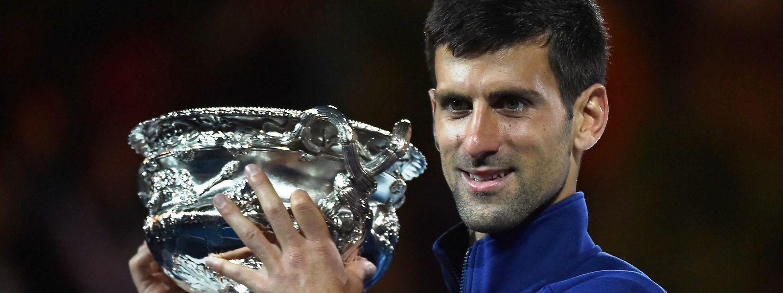 Novak Djokovic não tem neste momento adversário à altura no ténis mundial