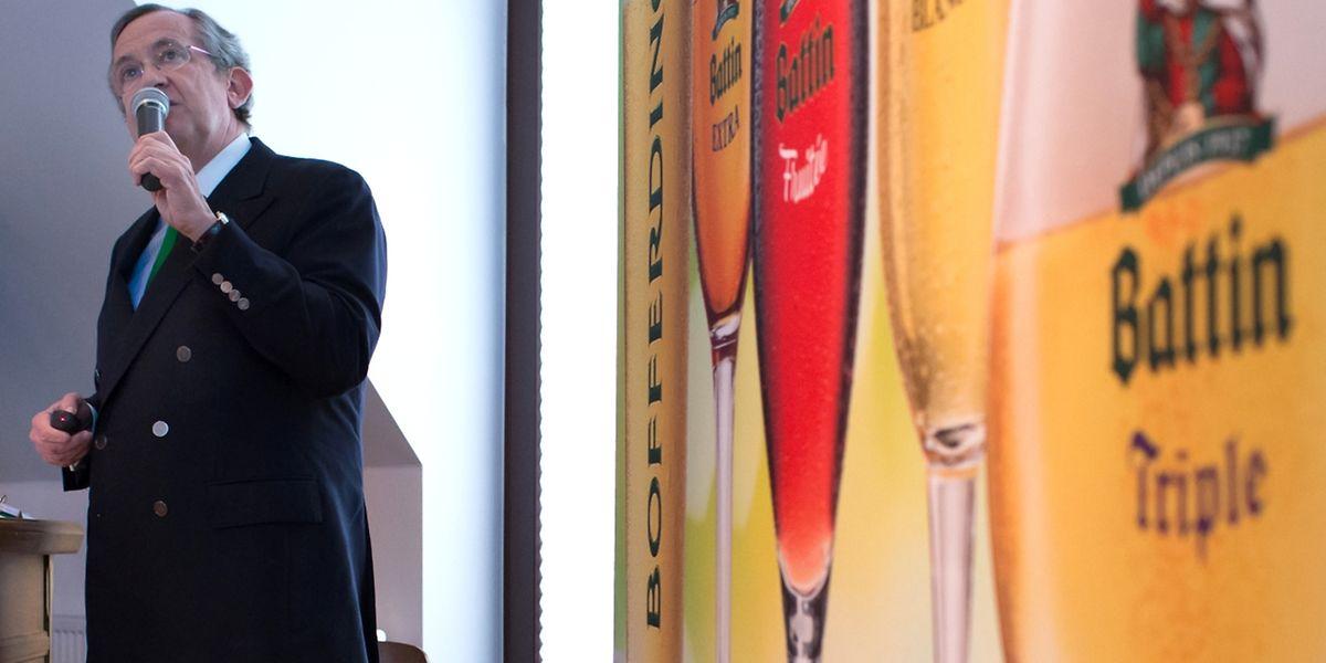 """""""Nous constatons un intérêt grandissant pour les bières naturelles"""", a noté Georges Lentz, administrateur délégué."""