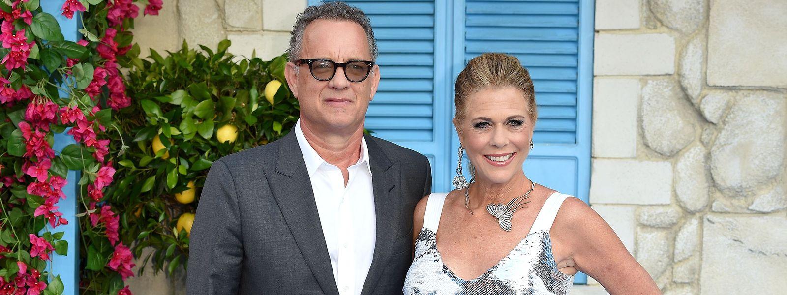 Tom Hanks und Ehefrau Rita Wilson gehörten zu den ersten Prominenten, die mit dem Virus infiziert waren.