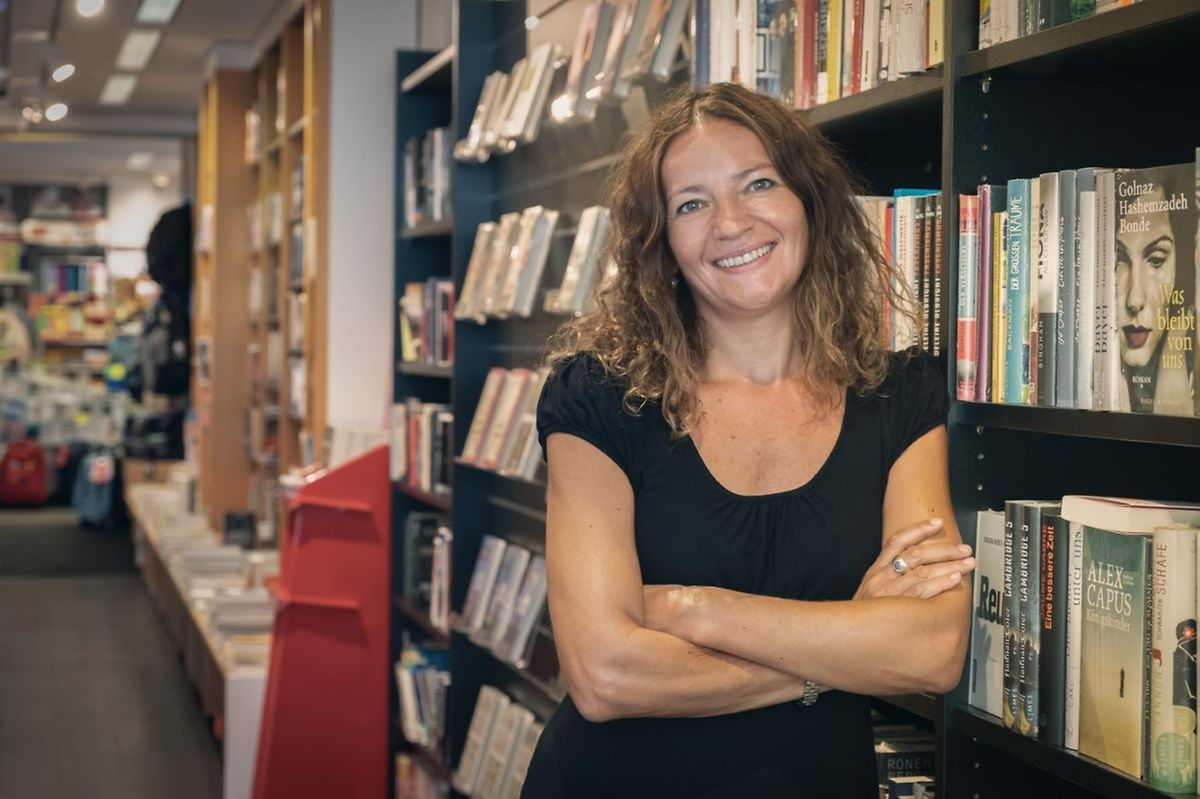Anne Diderich, présidente de la Fédération luxembourgeoise des libraires.