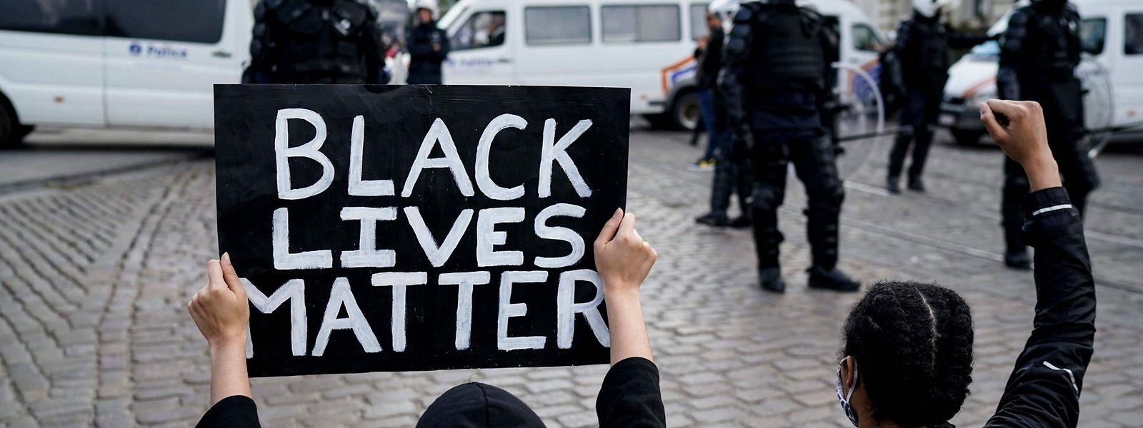 Black Lives Matter scheint in Luxemburg noch nicht richtig angekommen zu sein.
