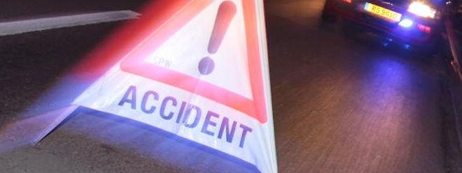 Der Unfall ging einigermaßen glimpflich aus.