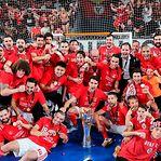 Benfica sagra-se campeão nacional de futsal