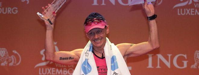 Zu früh gefreut: Jean-Piere Serafini war beim ING-Europe-Marathon gedopt.